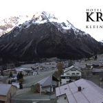 Wetter Kleinwalsertal Mittelberg am 10.11.2019