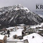 Wetter Kleinwalsertal Mittelberg am 14.11.2019