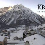Wetter Kleinwalsertal Mittelberg am 20.01.2020