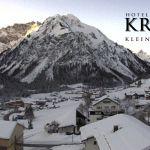 Wetter Kleinwalsertal Mittelberg am 21.01.2020