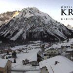 Wetter Kleinwalsertal Mittelberg am 22.01.2020