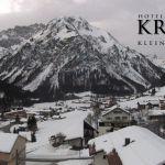 Wetter Kleinwalsertal Mittelberg am 26.01.2020