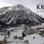 Wetter Kleinwalsertal Mittelberg am 13.02.2020