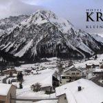 Wetter Kleinwalsertal Mittelberg am 20.02.2020