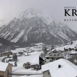 Wetter Kleinwalsertal Mittelberg am 26.02.2020