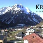 Wetter Kleinwalsertal Mittelberg am 10.04.2020