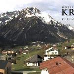 Wetter Kleinwalsertal Mittelberg am 20.04.2020