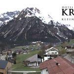 Wetter Kleinwalsertal Mittelberg am 21.04.2020