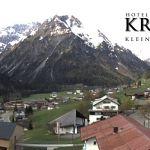 Wetter Kleinwalsertal Mittelberg am 28.04.2020