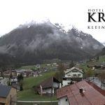 Wetter Kleinwalsertal Mittelberg am 29.04.2020
