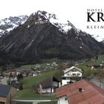 Wetter Kleinwalsertal Mittelberg am 30.04.2020
