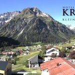 Wetter Kleinwalsertal Mittelberg am 01.06.2020