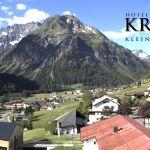 Wetter Kleinwalsertal Mittelberg am 02.06.2020