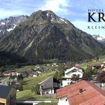 Wetter Kleinwalsertal Mittelberg am 03.06.2020