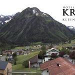 Wetter Kleinwalsertal Mittelberg am 05.06.2020