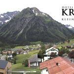 Wetter Kleinwalsertal Mittelberg am 06.06.2020