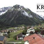 Wetter Kleinwalsertal Mittelberg am 08.06.2020