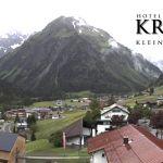 Wetter Kleinwalsertal Mittelberg am 11.06.2020