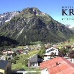 Wetter Kleinwalsertal Mittelberg am 12.06.2020