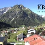 Wetter Kleinwalsertal Mittelberg am 13.06.2020