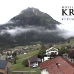 Wetter Kleinwalsertal Mittelberg am 15.06.2020