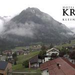 Wetter Kleinwalsertal Mittelberg am 16.06.2020