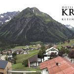 Wetter Kleinwalsertal Mittelberg am 20.06.2020