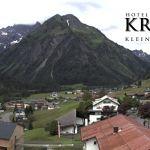 Wetter Kleinwalsertal Mittelberg am 21.06.2020