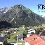 Wetter Kleinwalsertal Mittelberg am 24.06.2020