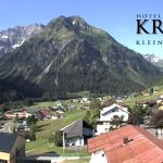 Wetter Kleinwalsertal Mittelberg am 25.06.2020