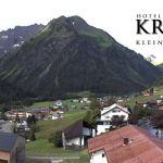 Wetter Kleinwalsertal Mittelberg am 02.07.2020