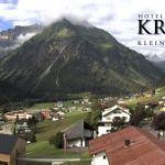 Wetter Kleinwalsertal Mittelberg am 04.07.2020
