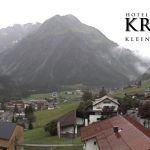 Wetter Kleinwalsertal Mittelberg am 11.07.2020