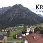 Wetter Kleinwalsertal Mittelberg am 15.07.2020