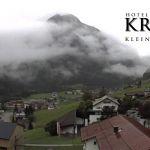 Wetter Kleinwalsertal Mittelberg am 17.07.2020