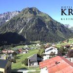 Wetter Kleinwalsertal Mittelberg am 19.07.2020