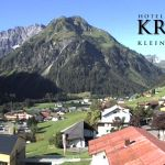 Wetter Kleinwalsertal Mittelberg am 20.07.2020