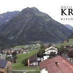 Wetter Kleinwalsertal Mittelberg am 24.07.2020