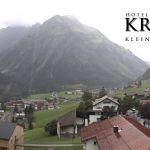 Wetter Kleinwalsertal Mittelberg am 26.07.2020
