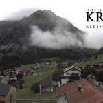 Wetter Kleinwalsertal Mittelberg am 01.09.2020