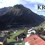 Wetter Kleinwalsertal Mittelberg am 02.09.2020