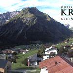 Wetter Kleinwalsertal Mittelberg am 04.09.2020