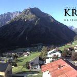 Wetter Kleinwalsertal Mittelberg am 10.09.2020