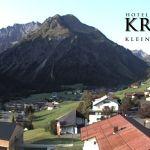 Wetter Kleinwalsertal Mittelberg am 13.09.2020