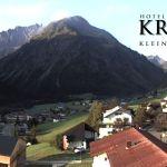 Wetter Kleinwalsertal Mittelberg am 21.09.2020