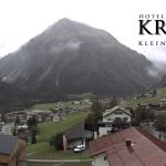 Wetter Kleinwalsertal Mittelberg am 23.09.2020