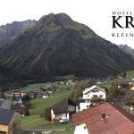 Wetter Kleinwalsertal Mittelberg am 24.09.2020