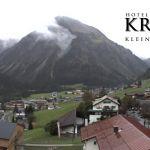 Wetter Kleinwalsertal Mittelberg am 25.09.2020