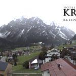 Wetter Kleinwalsertal Mittelberg am 29.09.2020